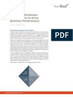 Improving Employee Engagement to Drive Business Performance