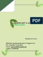 Portafolio de Servicios AGROCAST