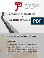 CARGADOR FRONTAL Y RETROEXCAVADORA