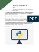 Introducción Python