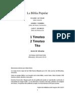 1 y 2Timoteo y Tito_ La Biblia Popular