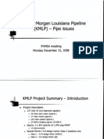2008-12-15 Kinder Morgan Louisiana Pipeline Pipe Issues Presentation Search Able