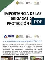 importancia de brigadas de proteccion civil ESCUELAS