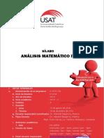 SILABO ANALISIS MATEMATICO IV ING. CIVIL - 2016 - II