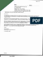 2009-08-17 Kinder Morgan Burton Email to PHMSA Re Rex East Deformation Test Results