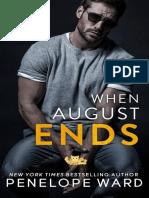 When august ends - Penelope Ward