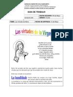 1. Las virtudes dela Virgen María