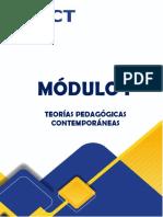 MÓDULO I. TEORÍAS PEDAGÓGICAS CONTEMPORÁNEAS1 (1)