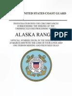 Coast Guard Alaska Ranger Report