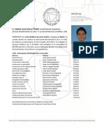 Certificado de materias cursadas eictv Livia M