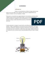ELECTRODINÁMICA  - UPT