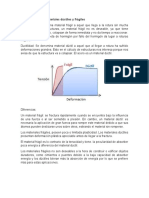 Diferencia de materiales dúctiles y frágiles