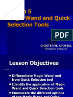 Photoshop Lesson 5 - Magic Wand and Quick Selection Tool