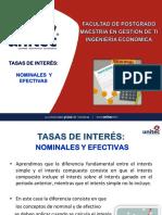 IF-SEGUNDASEMANACLASE01  TASA DE INTERES NOMINAL EFECTIVA
