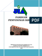 Buku Panduan Skripsi FIKes UIA 2020
