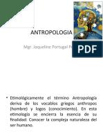 ANTROPOLOGIA 2016- I ppt
