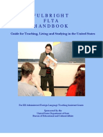 Updated Fulbright FLTA Handbook
