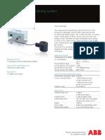 ABB Monitoring system SAM 3.0 - Data sheet 1HC0076312 E01 AB