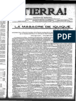 La Masacre de Iquique - Tierra (Cuba)