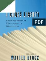 Chose Liberty Block