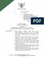 SE Wali Kota Cimahi ttg Pelaksanaan Shalat Idul Fitr
