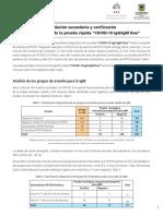 4. Informe de validación PR SD Biosensor
