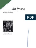 Medardo Rosso. La vida y obra de un escultor