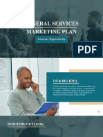 GENERAL SERVICES MARKETING PLAN