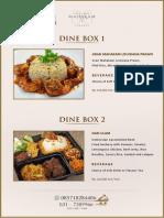 Dine Box Delight Le Gran Cafe