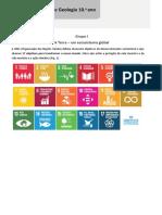 Ficha 3 - A Terra um ecossitema global