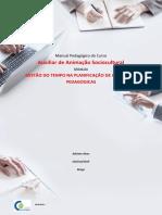 MANUAL - GESTÃO DE TEMPO. PL.ATIVIDAdes
