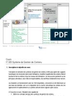 IPNET SYLLABUS - IT 320 Content Management System.pdf