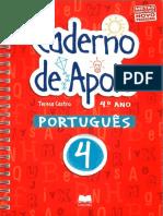 Caderno de Apoio  Português I (4º ano)