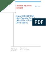 c220m3-sff-specsheet UCS Server Cisco.pdf