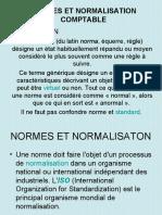 P1-I) A) NORME ET NORMALISATION