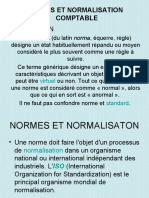 02 NORME ET NORMALISATION