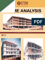 Analysis of RC Frame