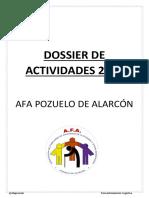 DOSSIER DE ACTIVIDADES MARZO AFA POZUELO