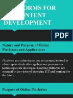Lesson 4 Online Platforms for ICT Content Development.pptx