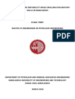 Full Thesis ANALYSIS OF WELLBORE INSTABILITY WHILE DRILLING EXPLORATORY WELLS IN BANGLADESH