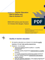 9.Lavonen Thailand 2010 Quality in Teacher Education 5
