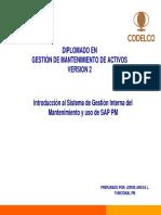 Introduccion SAP PM_inicios