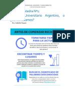 FC1-Sistema Universitario