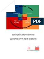 DDOT Context Sensitive Design Guidelines 2005