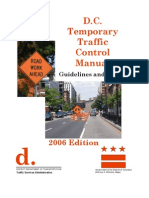 DDOT Work Zone Temporary Traffic Control Manual 2006