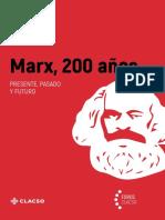 Marx, 200 Años. Presente, Pasado y Futuro - E. Torres, E. Concheiro Bórquez