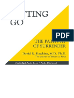 [2014] Letting Go by David R. Hawkins MD. PHD. | The Pathway of Surrender | Hay House