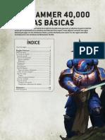 reglas básicas 9a edición 40k