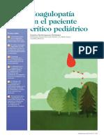 coagulacion en el paciente critico