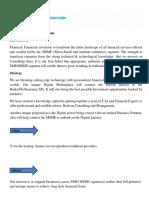 Fxmtrack Financials Profile